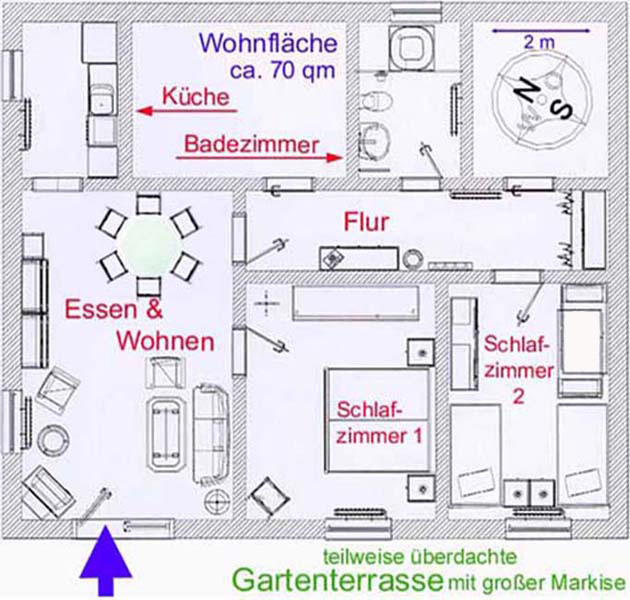 Haus Talblick: Ausstattung
